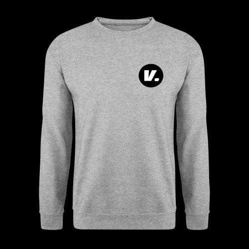 Ventura White V Logo - Unisex sweater