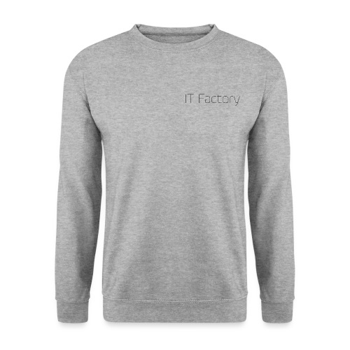 Logo højre bryst SORT - Unisex sweater