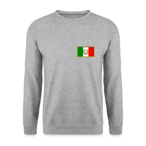Bandiera Italiana - Felpa unisex
