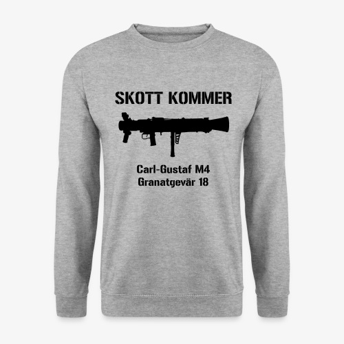 SKOTT KOMMER - KLART BAKÅT - SWE Flag - Unisextröja
