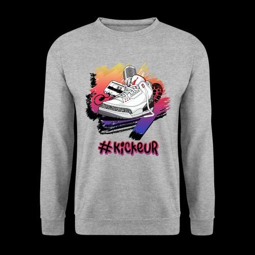 #Kickeur Noir - Sweat-shirt Unisexe