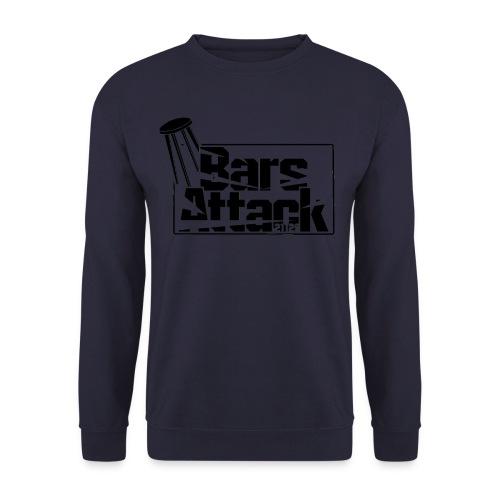BarsAttack Black Logo - Unisex Pullover