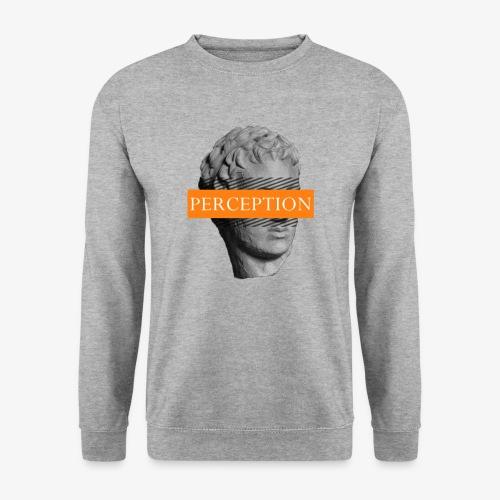 TETE GRECQ ORANGE - PERCEPTION CLOTHING - Sweat-shirt Unisexe
