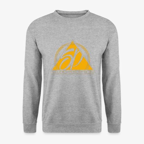 SP LOGO PERCEPTION CLOTHES ORANGE - Sweat-shirt Unisexe