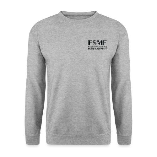 ESME Logo Schwartz - Unisex Pullover