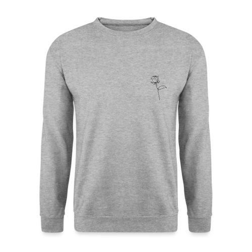 Logo Rose au Trait - Sweat-shirt Unisexe