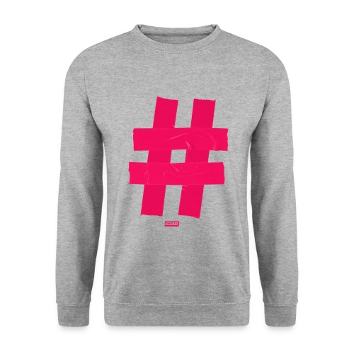 Hashtag2 png - Unisex Pullover