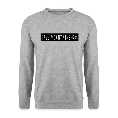 freemountains noir png - Sweat-shirt Unisexe
