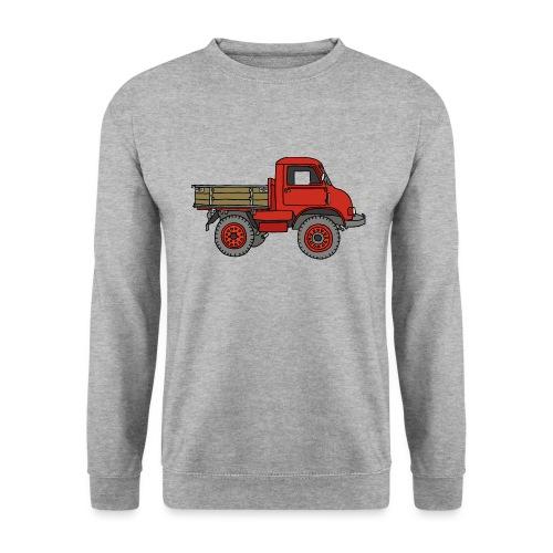 Roter Lastwagen, LKW, Laster - Unisex Pullover