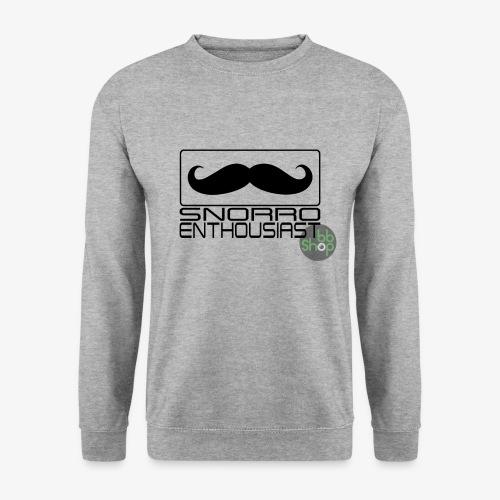 Snorro enthusiastic (black) - Unisex Sweatshirt