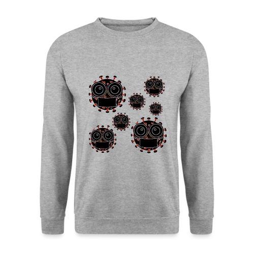 virus eseguire coronavirus covid19 allarme virus - Felpa unisex