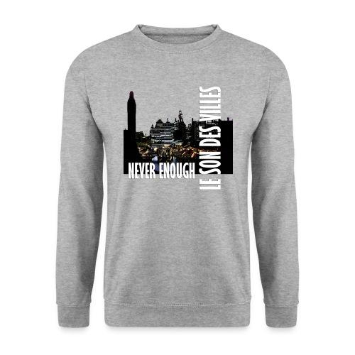 Le Son Des Villes : Vinyl by night - Sweat-shirt Unisexe