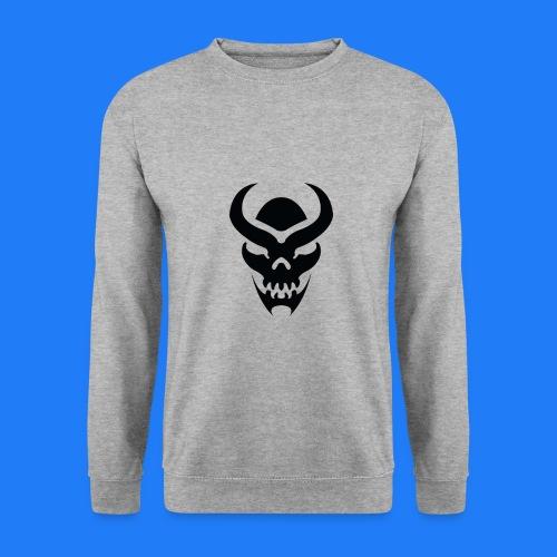 TRIBAL SKULL NOIR - Sweat-shirt Unisexe