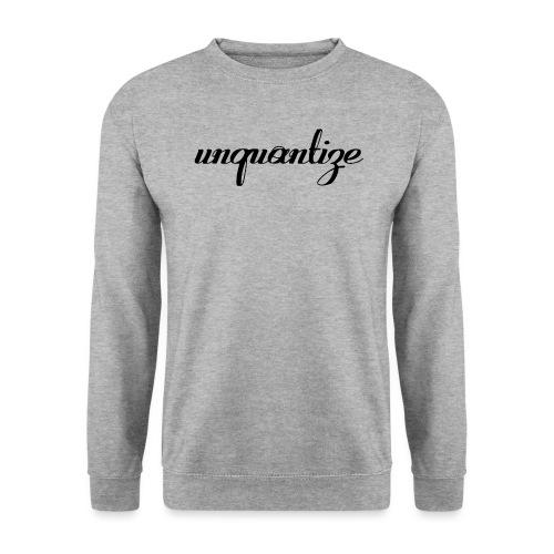 unquantize black logo - Unisex Sweatshirt