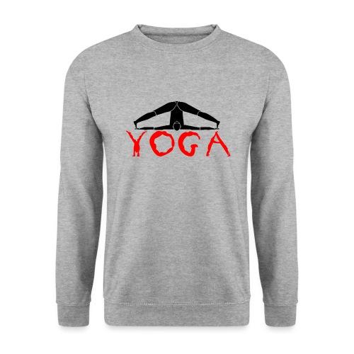 yoga yogi nero pace amore namaste sport art - Felpa unisex