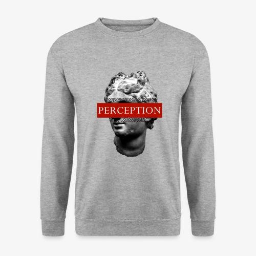 TETE GRECQ RED - PERCEPTION CLOTHING - Sweat-shirt Unisexe