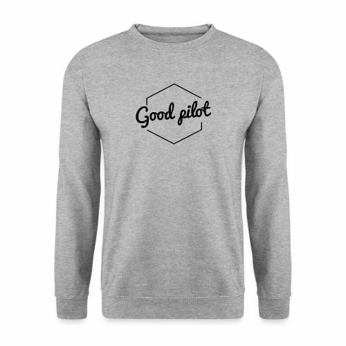 GOOD PILOT (noir) - Sweat-shirt Unisexe