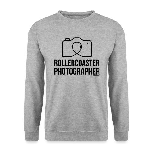 Photographe de montagnes russes - Sweat-shirt Unisexe