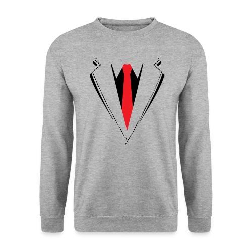 Vlinderdas of stropdas kostuum. - Unisex sweater