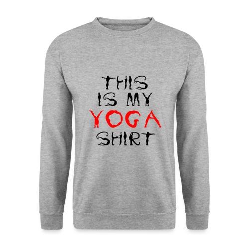 camicia yoga sport namaste spiritualità pace amore - Felpa unisex