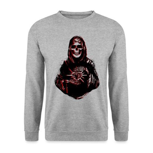 Santa Muerte I Schwarz Rot - Unisex Pullover