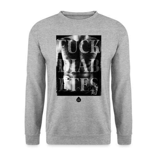FUCK DIABETES BW - Unisex Sweatshirt
