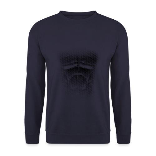 echt muskeln dark - Unisex Pullover