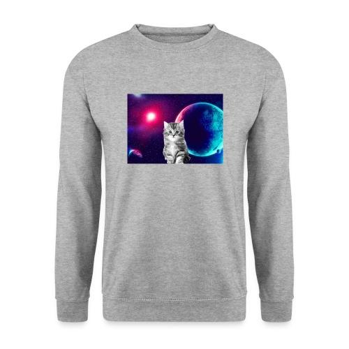 Cute cat in space - Unisex svetaripaita