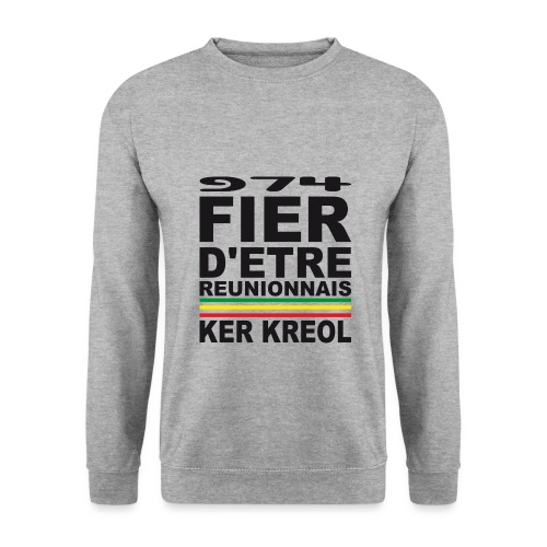 974 ker kreol fier et culture - Sweat-shirt Unisexe