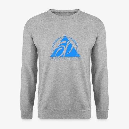 SP LOGO PERCEPTION CLOTHES BLEU - Sweat-shirt Unisexe