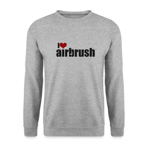 I Love airbrush - Unisex Pullover