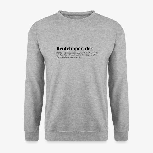 Beutelipper - Wörterbuch - Unisex Pullover