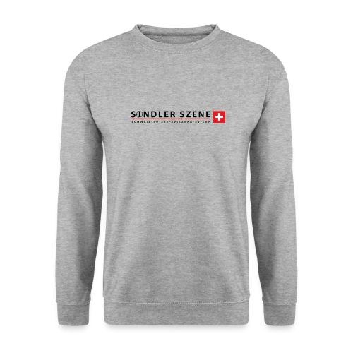 Sondler Szene Schweiz Logo breit - Unisex Pullover