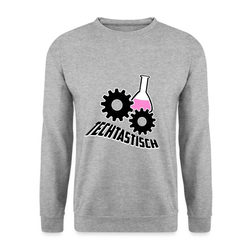 Techtasticlogoweiß png - Unisex Pullover
