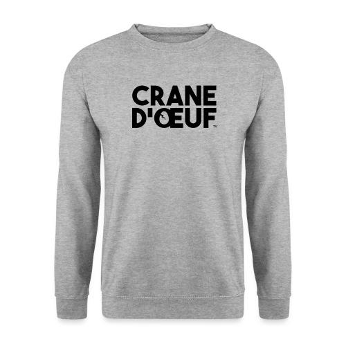 Logo Noir - Sweat-shirt Unisexe