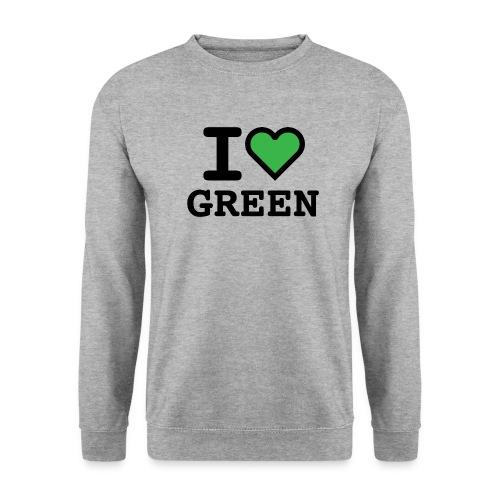 i-love-green-2.png - Felpa unisex