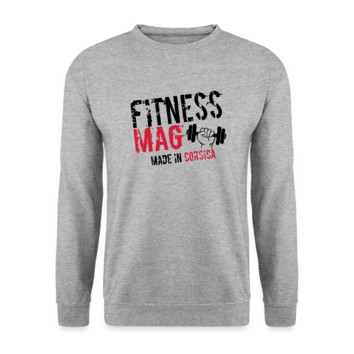 Fitness Mag made in corsica 100% Polyester - Sweat-shirt Unisexe