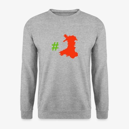 Hashtag Wales - Unisex Sweatshirt