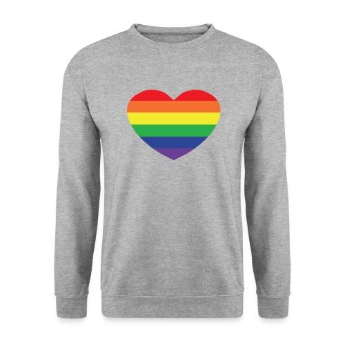 Rainbow heart - Unisex Sweatshirt