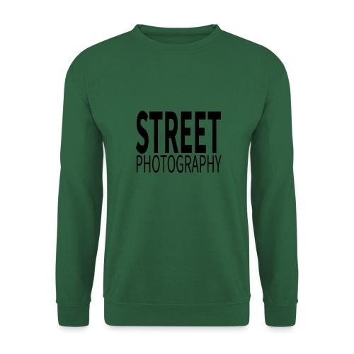 Street photography Black - Felpa unisex