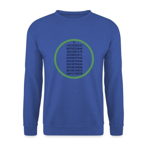 Number Pi Green Circle - Unisex svetaripaita