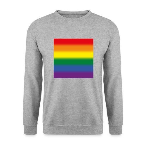 Verschwommene LGBT Flagge - Unisex Pullover