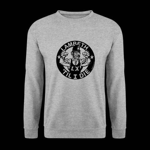 LAMBETH - BLACK - Unisex Sweatshirt