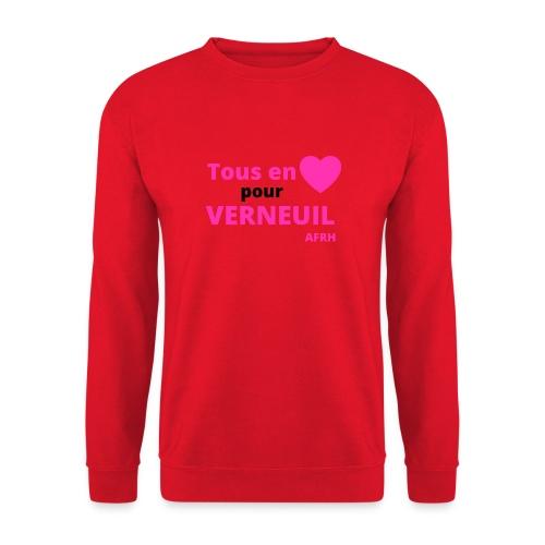 Tous en coeur pour Verneuil - Sweat-shirt Unisexe