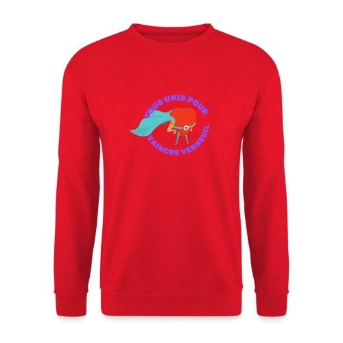 Tous Unis pour Vaincre verneuil violet - Sweat-shirt Unisexe