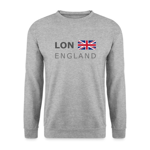 LON ENGLAND BF dark-lettered 400 dpi - Unisex Sweatshirt