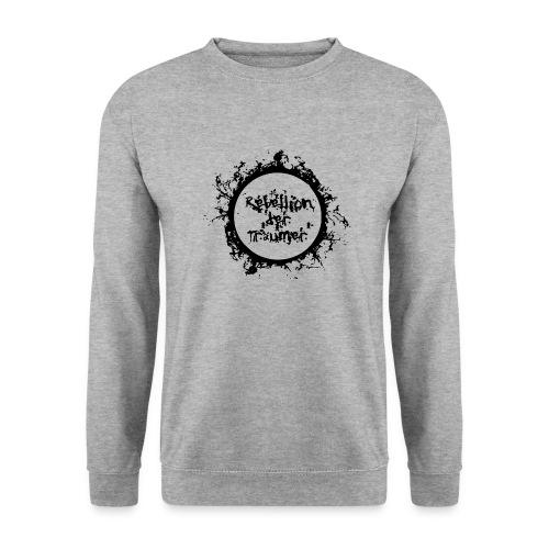 Rebellion der Träumer Logo schwarz - Unisex Pullover