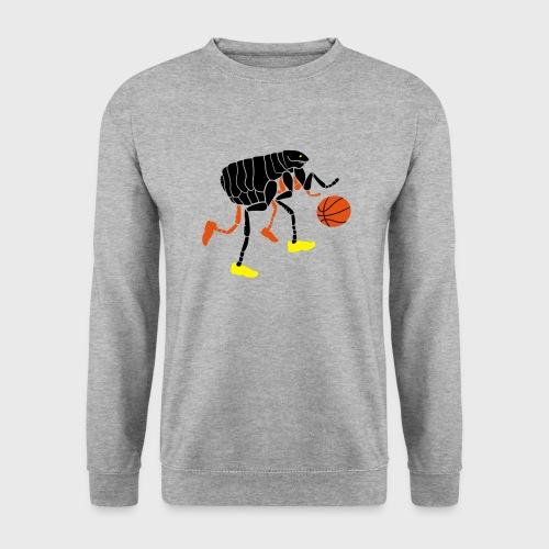 Puce qui joue au Basketball - Sweat-shirt Unisexe