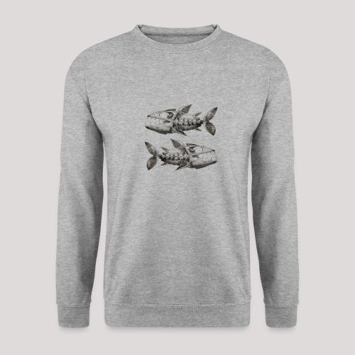 FishEtching - Unisex Sweatshirt