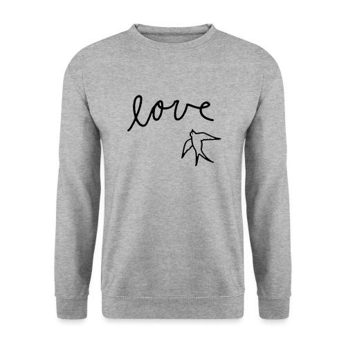 Love + Bird - Sweat-shirt Unisexe